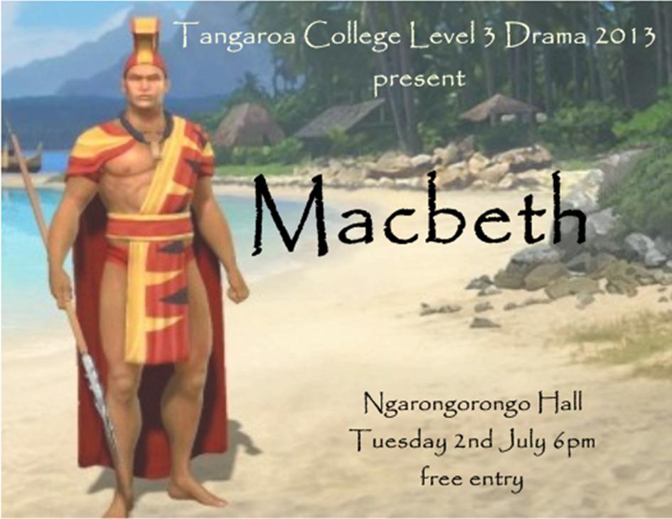 Macbeth - the Pasifikan version